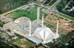 HELICOPTER VIEW OF FAISAL MASJID