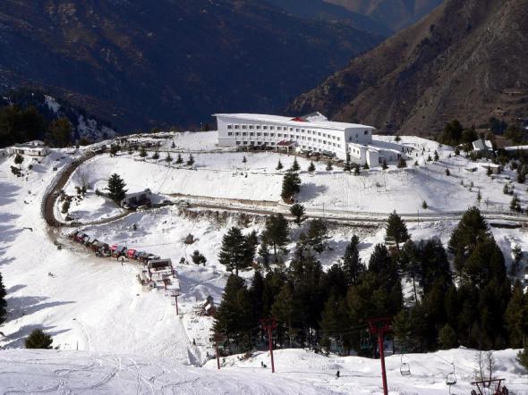Malam Jabba Ski Resort Swat